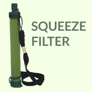 squeeze filter